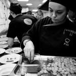 Pilar, equipo de cocina del restaurante Reino de León