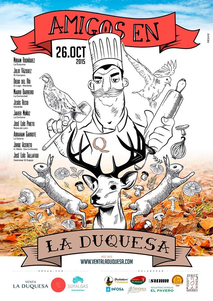 5ª celebración de las jornadas gastronómica en Venta La Duquesa