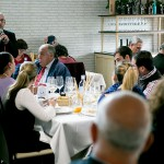 Pepe Ferrer se encargó del maridaje de los platos con vinos de Jerez