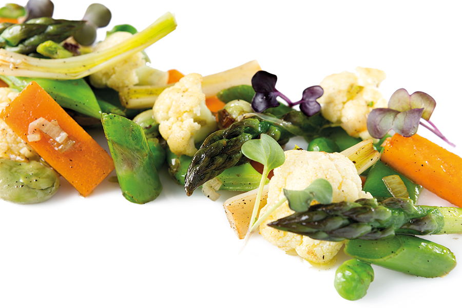 Salteado de Verduras - Venta La Duquesa
